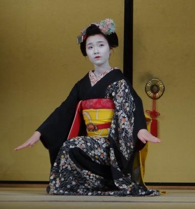 Foto van een geisha
